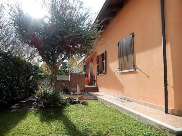 Villetta a schiera in vendita a Meldola, Con giardino, 140 mq
