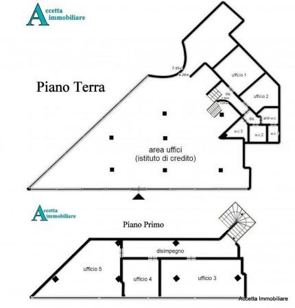 Locale Commerciale  in affitto a Taranto, Semicentrale, 420 mq - Foto 2