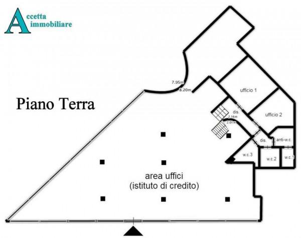 Locale Commerciale  in affitto a Taranto, Semicentrale, 420 mq - Foto 8