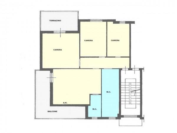 Appartamento in vendita a Roma, Torre Maura, 90 mq - Foto 3