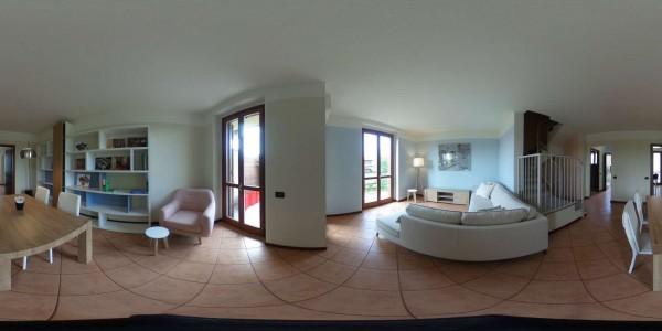 Villetta a schiera in vendita a Albairate, Corbetta - Battuello, Con giardino, 240 mq