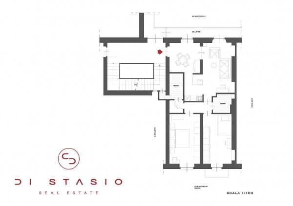 Appartamento in vendita a Torino, 101 mq - Foto 2