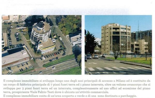 Ufficio in affitto a Cinisello Balsamo, Stazione Garibaldi, 1560 mq - Foto 3
