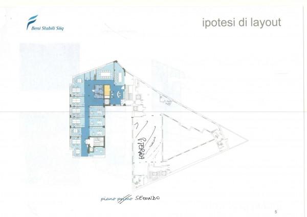 Ufficio in affitto a Milano, Stazione Garibaldi, 530 mq - Foto 4