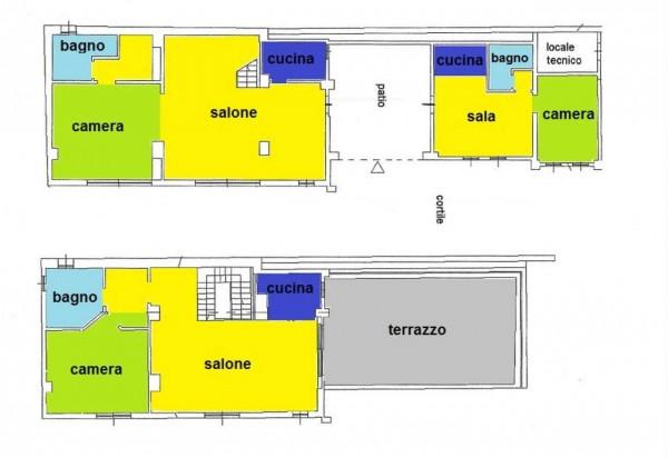 Villa in vendita a Milano, Parco Trenno, Con giardino, 300 mq - Foto 38