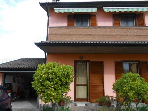 Villa in vendita a Casaletto di Sopra, Residenziale, Con giardino, 170 mq