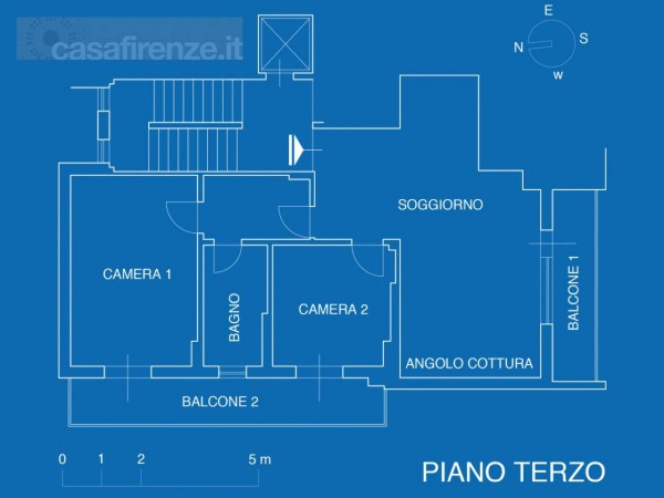 Appartamento in vendita a Firenze, Con giardino, 76 mq - Foto 19