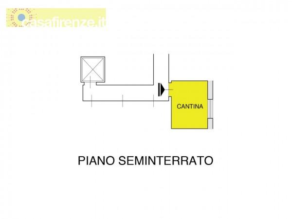 Appartamento in vendita a Firenze, Con giardino, 76 mq - Foto 2