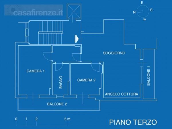 Appartamento in vendita a Firenze, Con giardino, 76 mq - Foto 31
