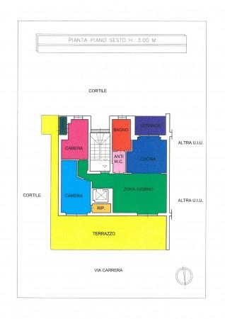 Appartamento in vendita a Torino, Parella, 103 mq - Foto 7