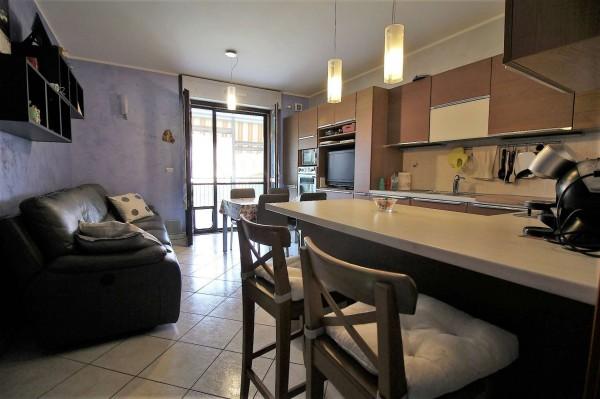 Appartamento in vendita a Pianezza, San Pancrazio, 88 mq