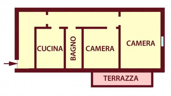 Appartamento in vendita a Bologna, 70 mq