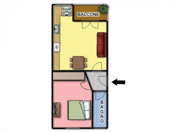Appartamento in affitto a Torino, Lucento, Arredato, 55 mq