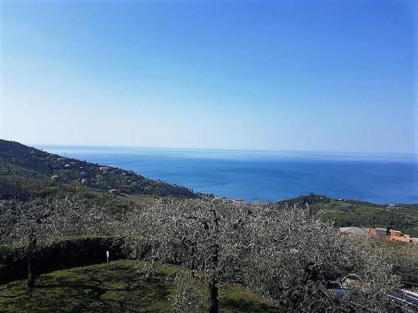 Villa in vendita a Lavagna, Barassi, Con giardino, 150 mq