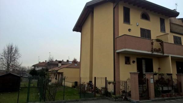 Villetta a schiera in affitto a Corbetta, Pobbia, Con giardino, 240 mq - Foto 28