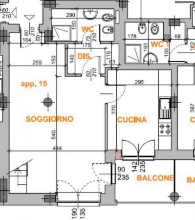 Appartamento in affitto a Grugliasco, 85 mq - Foto 16