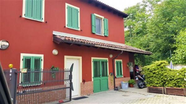 Villetta a schiera in vendita a San Salvatore Monferrato, Con giardino, 80 mq