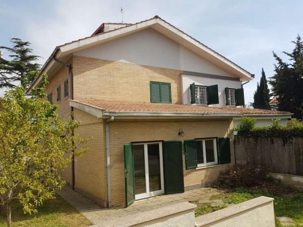 Villa in vendita a Roma, Belvedere Montello, Con giardino, 295 mq - Foto 4