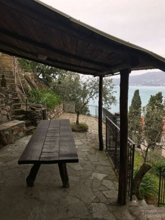 Villa in affitto a Zoagli, Mare, Arredato, con giardino, 140 mq