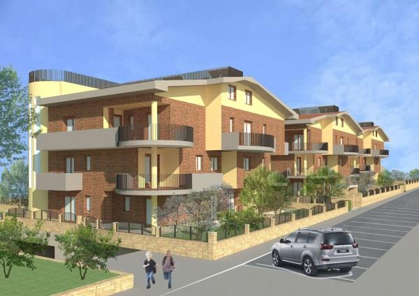 Appartamento in vendita a Ciampino, Morena, Con giardino, 78 mq