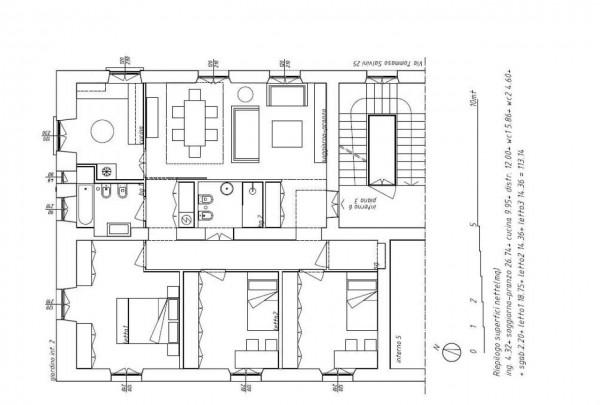 Appartamento in affitto a Roma, 140 mq - Foto 2