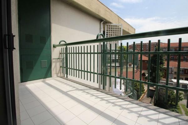 Appartamento in vendita a Torino, Rebaudengo, Con giardino, 102 mq - Foto 7