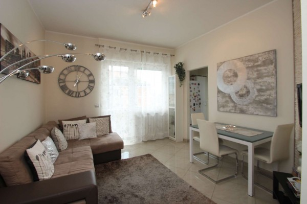 Appartamento in vendita a Torino, Rebaudengo, Arredato, 55 mq