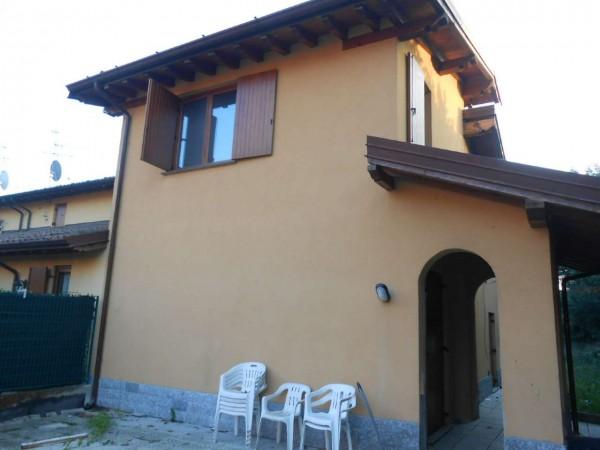 Villa in vendita a Monte Cremasco, Residenziale, Con giardino, 145 mq