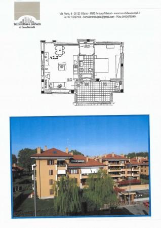 Appartamento in vendita a Peschiera Borromeo, Quadrifoglio 4, Con giardino, 72 mq - Foto 17