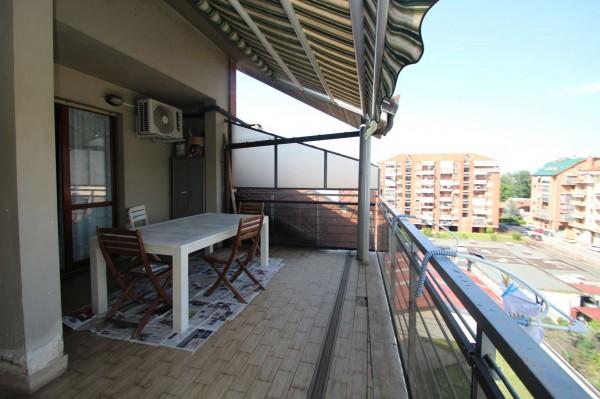 Appartamento in vendita a Torino, Rebaudengo, Con giardino, 190 mq - Foto 12