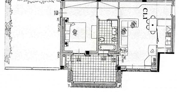 Appartamento in vendita a Peschiera Borromeo, Con giardino, 71 mq - Foto 14