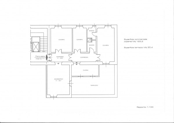 Appartamento in vendita a Roma, Prati, 135 mq - Foto 3