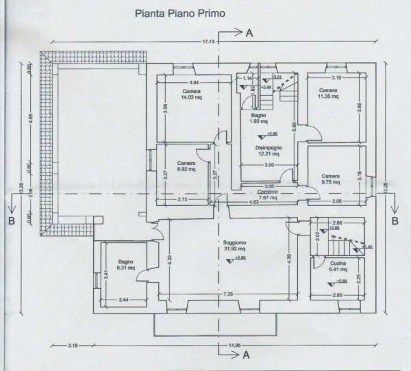 Casa indipendente in vendita a Perugia, San Matteo, Con giardino, 350 mq - Foto 19