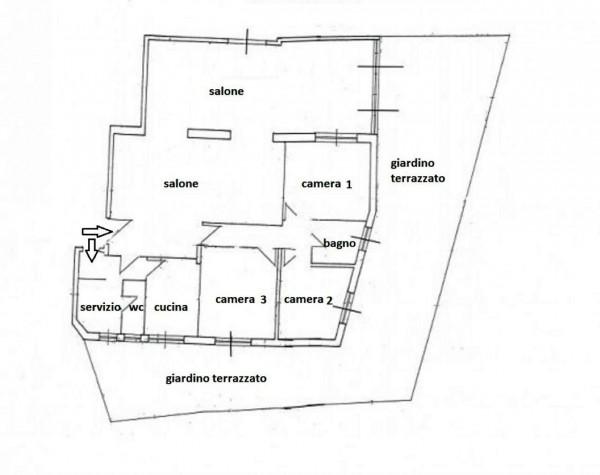 Appartamento in affitto a Roma, Piazzale Clodio, Con giardino, 169 mq - Foto 5