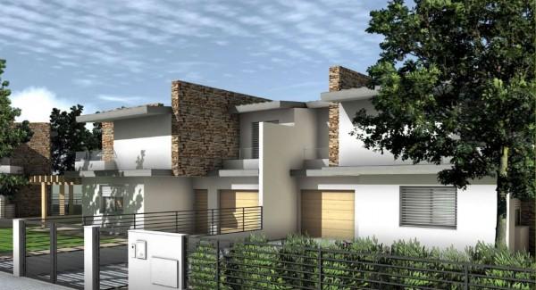 Villa in vendita a Sant'Agata Bolognese, Century, Con giardino, 130 mq