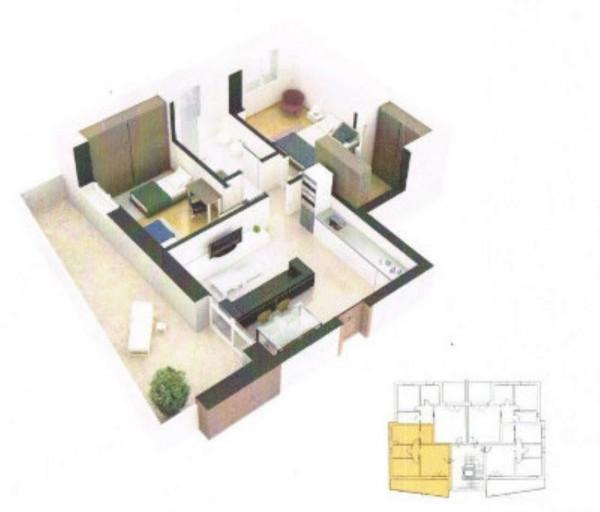 Appartamento in vendita a Sant'Agata Bolognese, Con giardino, 65 mq