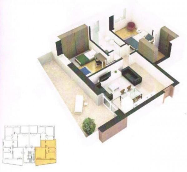 Appartamento in vendita a Sant'Agata Bolognese, Con giardino, 66 mq