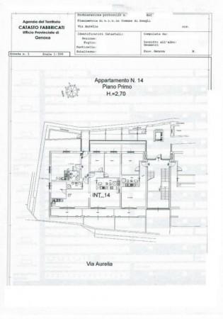 Appartamento in vendita a Zoagli, Centro Città, Con giardino, 68 mq - Foto 2