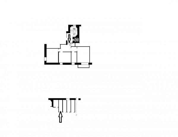 Appartamento in vendita a Milano, Giambellino, Con giardino, 75 mq - Foto 10