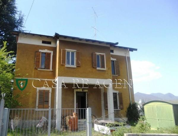 Casa indipendente in vendita a Varese, Biumo Inferiore, Con giardino, 142 mq
