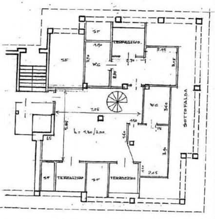 Appartamento in vendita a Monza, Parco, Con giardino, 275 mq - Foto 2