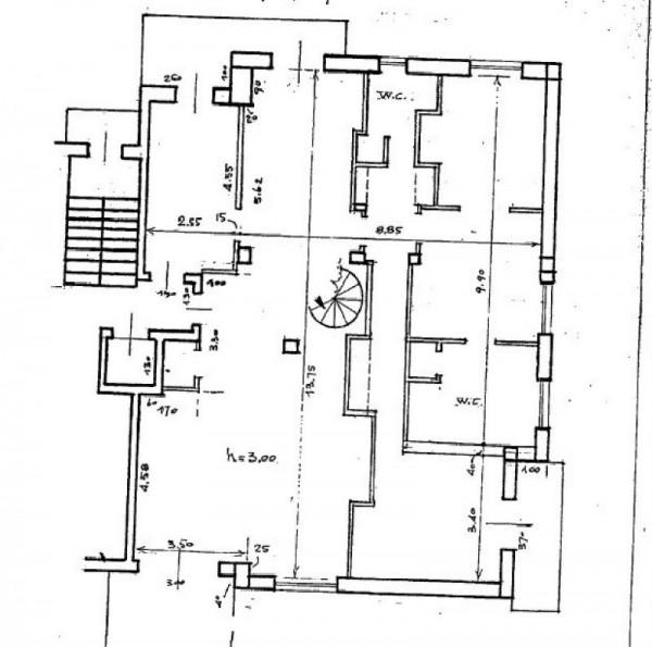 Appartamento in vendita a Monza, Parco, Con giardino, 275 mq - Foto 5