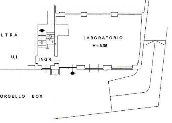 Locale Commerciale  in vendita a Milano, Via Predabissi, Con giardino, 90 mq - Foto 2