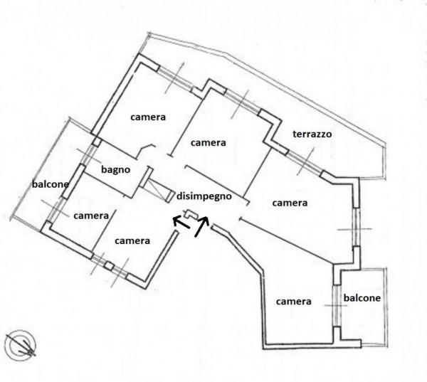 Appartamento in affitto a Roma, Piazzale Clodio, 152 mq - Foto 2