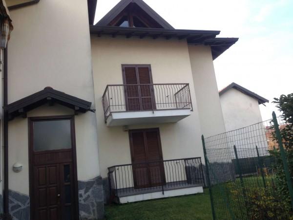 Appartamento in affitto a Gallarate, Arredato, con giardino, 55 mq