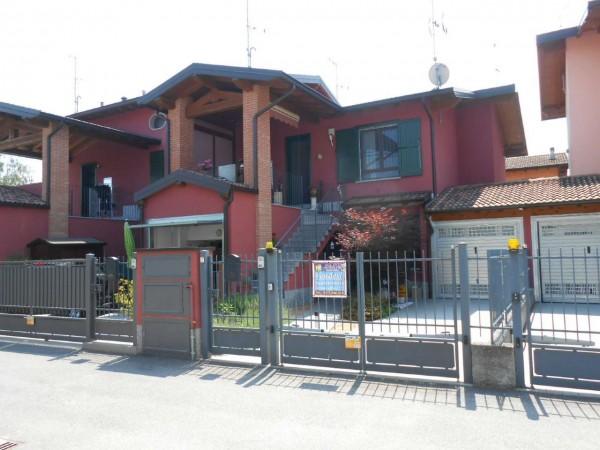 Appartamento in vendita a Crespiatica, Residenziale, Con giardino, 109 mq - Foto 1