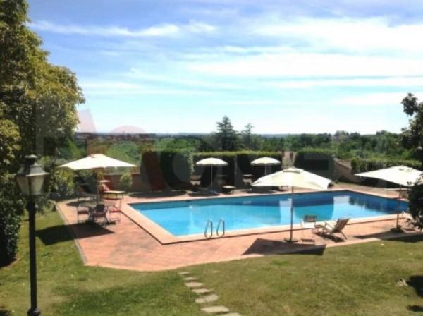 Villa in vendita a Sacrofano, Con giardino, 400 mq