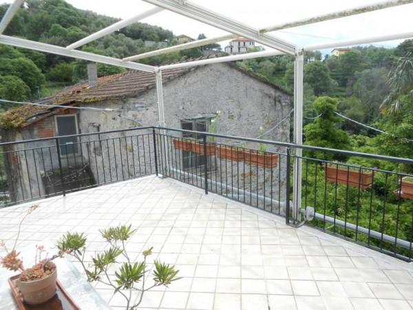 Casa indipendente in vendita a Rapallo, San Pietro Di Nonella, Con giardino, 130 mq - Foto 56
