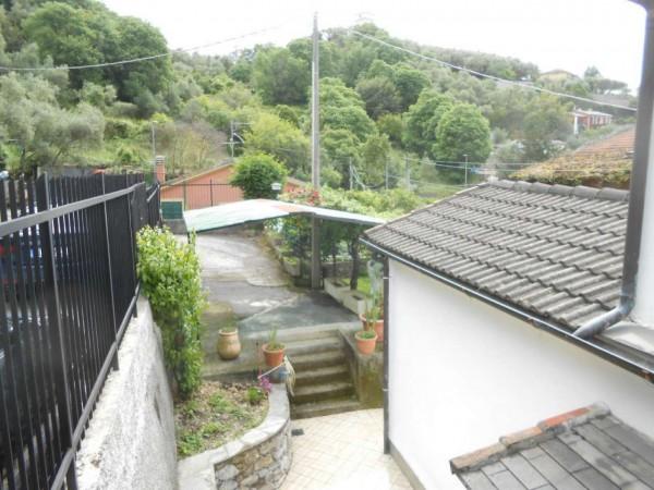 Casa indipendente in vendita a Rapallo, San Pietro Di Nonella, Con giardino, 130 mq - Foto 77