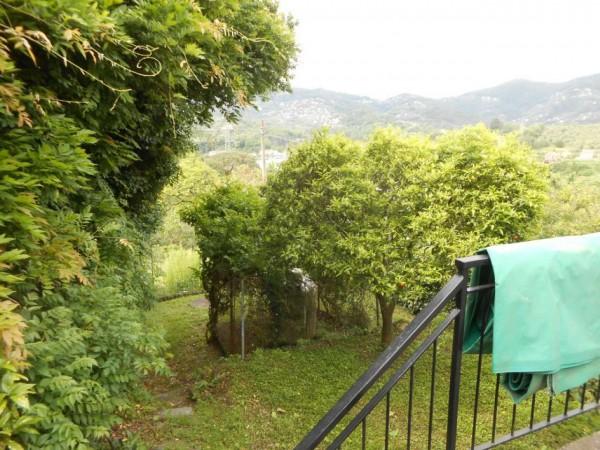 Casa indipendente in vendita a Rapallo, San Pietro Di Nonella, Con giardino, 130 mq - Foto 93